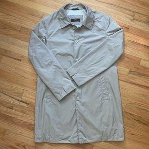 Hugo Boss Weatherproof Trench Coat Jacket Size 42R